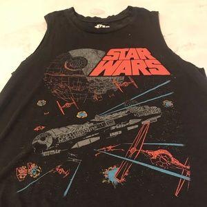 NWOT Star Wars Muscle Tee